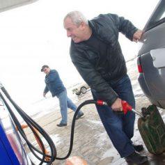 В Смоленске возросли цены на зимнее дизтопливо