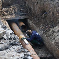 «Квадра» проводит ремонтные работы в Промышленном районе