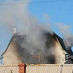 При пожаре в дачном доме погиб смолянин