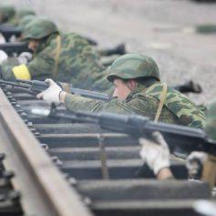 В Смоленской области военные железнодорожники подняты по учебной тревоге