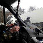 В Смоленском районе из-за вылетевшей в кювет фуры образовалась пробка