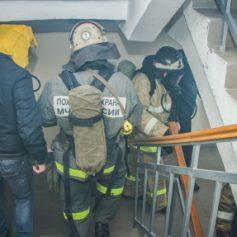 В Смоленске из-за пожара эвакуировали 60 человек
