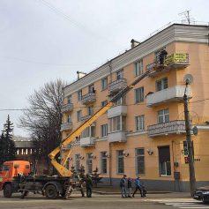 В Смоленске продолжают бороться с незаконной рекламой