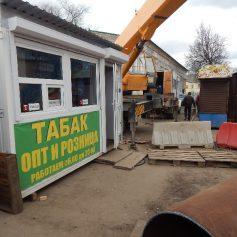 В Смоленске ларьки помешали «Квадре» быстро ликвидировать аварию на теплосетях