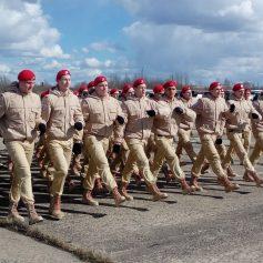 В Смоленске в параде в День Победы впервые примут участие юнармейцы