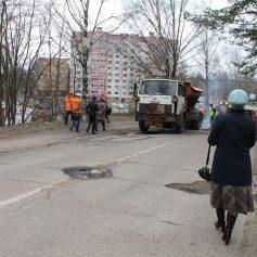 Активисты Народного фронта проверили состояние автомобильных дорог Смоленска