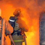 В Гагарине сгорел торговый центр