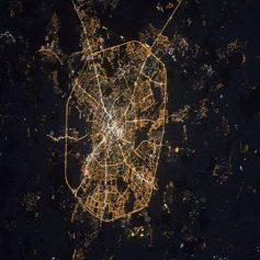 Смоленск сфотографировали из космоса