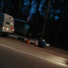 В Смоленске на Витебском шоссе на асфальте нашли женщину