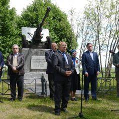 В Ельнинском районе почтили память погибших в 1941-м году студентов и сотрудников МГУ