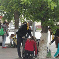 Благоустроить скверы и памятники Смоленска помогут молодёжные трудовые бригады