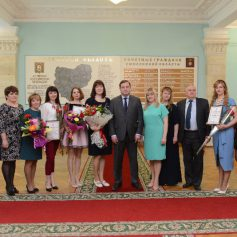 Наталья Шалимова объявлена «Воспитателем года – 2017»