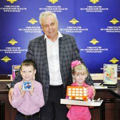 Смоленские полицейские наградили юных мастеров