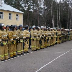В Смоленске выбрали лучшую специализированную пожарно-спасательную часть