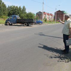 Разметку на улице Генерала Паскевича пообещали нанести на этой неделе