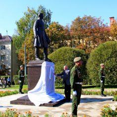 В Смоленске появился памятник Николаю Пржевальскому