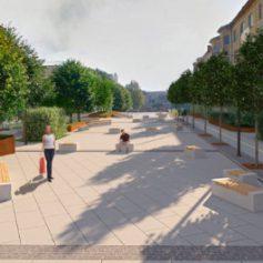 В Смоленске начали благоустраивать скверы