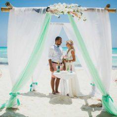 Особенности свадебной церемонии на пляже
