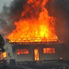 В Демидове сгорел дом