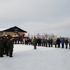 На мемориале на улице Ногина прошла гражданско-патриотическая акция
