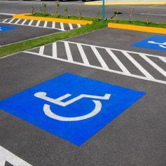 Бесплатные парковочные места для инвалидов
