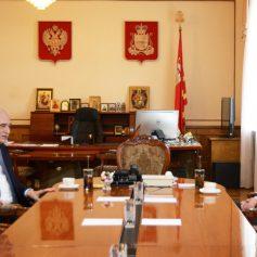 Алексей Островский встретился с послом Азербайджана Поладом Бюльбюль оглы