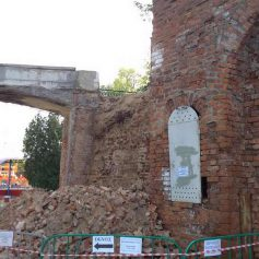 В Смоленске обрушился очередной участок крепостной стены