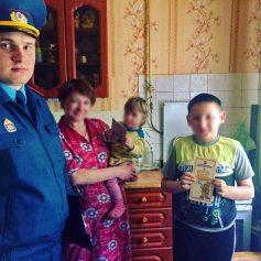 В Смоленской области в частном секторе проходят противопожарные рейды