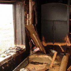 Три строения уничтожены. В Пржевальском погиб мужчина