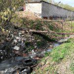 В Смоленске жители Заднепровья увидели «молочные» реки