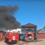 В Смоленске сгорел колбасный цех
