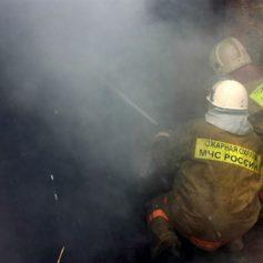 В Смоленской области неисправная печь погубила баню