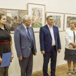 Владимир Соваренко принял участие в открытии выставки детских художественных работ