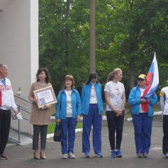 Факельная эстафета «Бег Мира 2018» прошла через Дорогобужский район