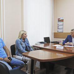 Владимир Соваренко провел личный прием граждан
