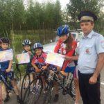 В Сафонове юных велосипедистов учат правилам безопасности