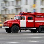 В Смоленске горел асфальтовый завод