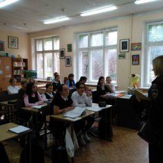 Для смоленских шестиклассников провели открытый урок в рамках Года культуры безопасности