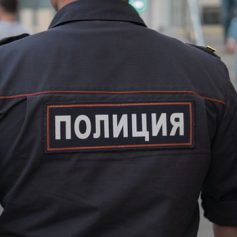 На улице Памфилова были замечены силовики