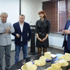 Алексей Островский провел рабочую встречу с президентом агрохолдинга «Кабош» Дмитрием Матвеевым