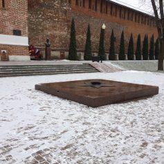 В Смоленске погас Вечный огонь