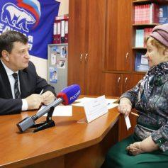 Игорь Ляхов провел прием граждан в Ярцеве Смоленской области