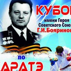 В Смоленске пройдет турнир по карате, посвященный памяти Г.И. Бояринова