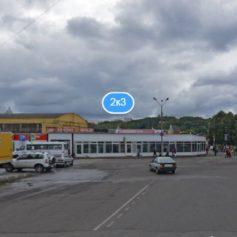 В Смоленске ограничили движение транспорта на Колхозной площади