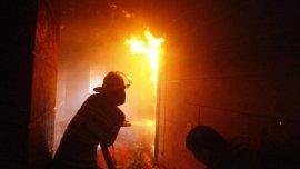 Семья осталась без дома в результате пожара в Починковском районе
