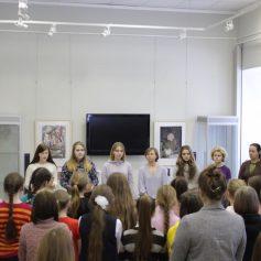 В ДХШ открылась выставка, посвященная блокадному Ленинграду