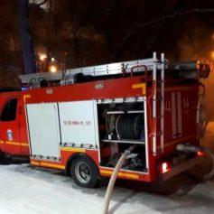 Человек пострадал при пожаре на улице Черняховского в Смоленске