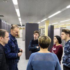 МегаФон показал работу сети будущим связистам Смоленска