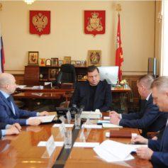 На встрече с Губернатором Глава города озвучил планы по ремонту дорог в 2019 году