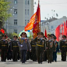 В Смоленске приступили к репетиции парада Победы